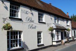 The Blue Ball pub, High Street, Kintbury