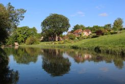 The Old Vicarage, Kennet and Avon Canal, Kintbury