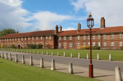 Barrack Block, Grace and Favour Apartments, Hampton Court Palace