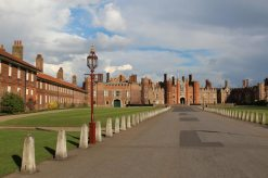 Main Entrance, West Front, Hampton Court Palace