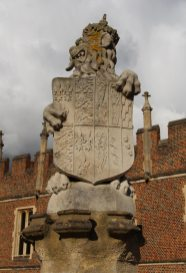 The Lion of England, The King's Beast, Hampton Court Palace