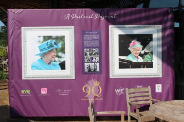HM The Queen's 90th birthday portraits, Terrace, Savill Building, Virginia Water
