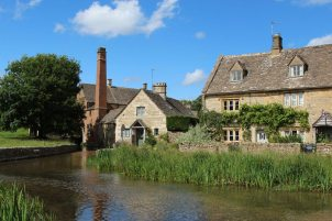 The Old Mill and Vine House, Lower Slaughter