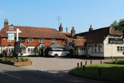 The Woolpack pub, Elstead