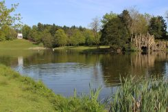 The Lake, Grotto and Gothic Temple, Painshill Park, Cobham