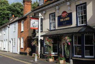 The Lamb pub, Abbey Street, Farnham