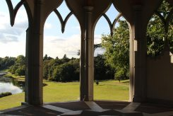 View from Gothic Temple, Painshill Park, Cobham