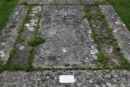 Grave of James Austen and his wife, Mary, St. Nicholas Churchyard, Steventon