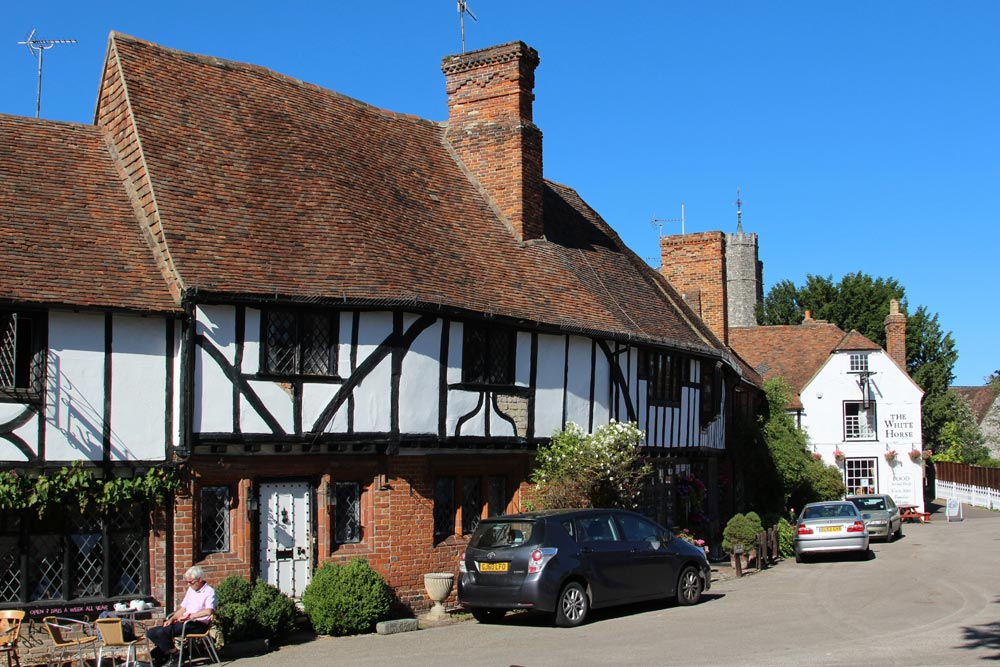 15th century cottages, The Square, Chilham