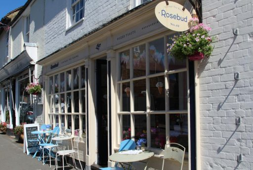 Rosebud Vintage Tea Rooms, High Street, Charing