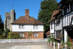 St. Mary's Church and Clements Cottage, Chilham