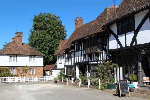 Tudor Cottage and Clements Cottage, The Square, Chilham