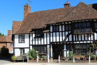Tudor Cottage and The Smithy, The Square, Chilham