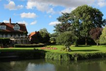 Garden, The French Horn Hotel, Sonning