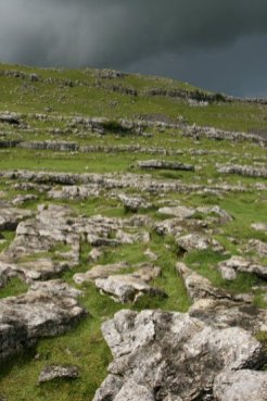 Above Malham Cove