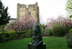Alice Through the Looking Glass and Guildford Castle, Castle Grounds, Guildford
