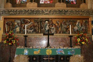 Altar, Waltham Abbey Church, Waltham Abbey
