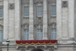 Balcony, Buckingham Palace. Royal Wedding, Prince William and Kate, 29th April 2011