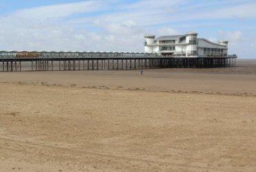 Beach and Grand Pier, Weston-super-Mare