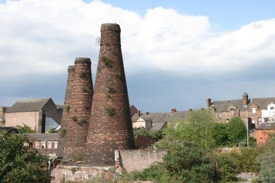 Bottle Kilns, Acme Marls, Woodbank Street, Burslem, Stoke-on-Trent