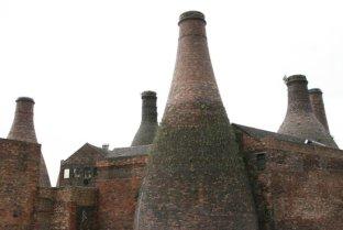 Bottle ovens, Gladstone Pottery Museum, Longton, Stoke-on-Trent