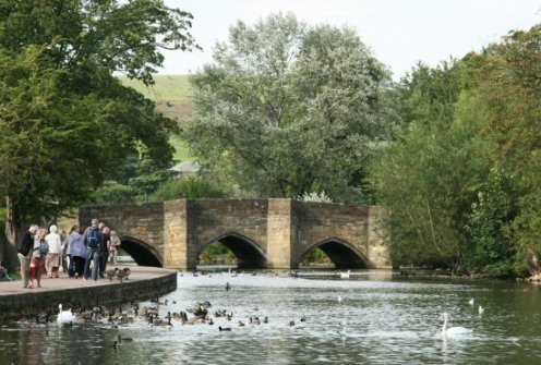 Bridge over River Wye, Bakewell