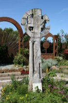 Celtic Cross, Gospel Garden, Holy Island, Lindisfarne