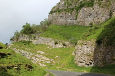 Cheddar Gorge, from Cliff Road, Cheddar