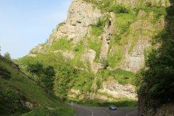 Cheddar Gorge, from Cliff Road, Cheddar