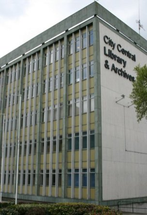 City Central Library, Hanley, Stoke-on-Trent