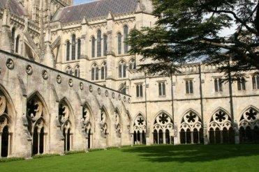 Cloister Garden, Salisbury Cathedral, Salisbury