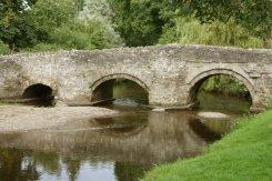 Clun Bridge, over River Clun, Clun
