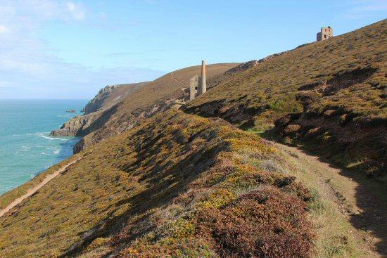 Coast path to Wheal Coates Mine, St. Agnes