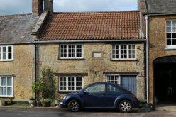 Cottage on site of The Castle Inn, (King Charles II slept here) Broadwindsor