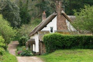 Cottages, near River Avill, Dunster, Exmoor