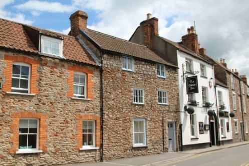 Cottages, Priest Row, Wells