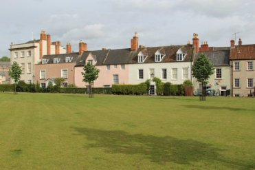 Cottages, Wells Cathedral Green, Wells