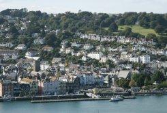 Dartmouth, from Ridley Hill, Kingswear