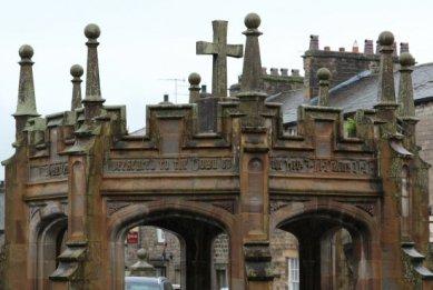 Detail, Monument, Market Square, Kirkby Lonsdale