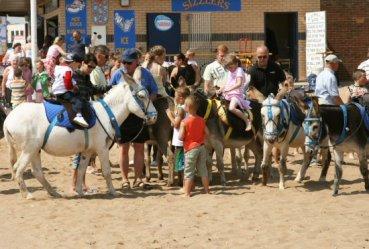 Donkey rides, Skegness