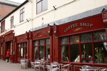 Edwards' China and Coffee Shop, Market Lane, Hanley, Stoke-on-Trent