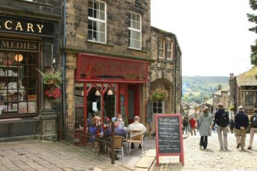Emma's Eating Parlour, Main Street, Haworth