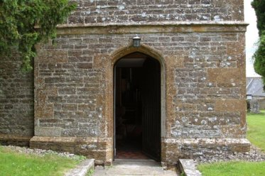 Entrance to St. Osmund's Church, Melbury Osmond