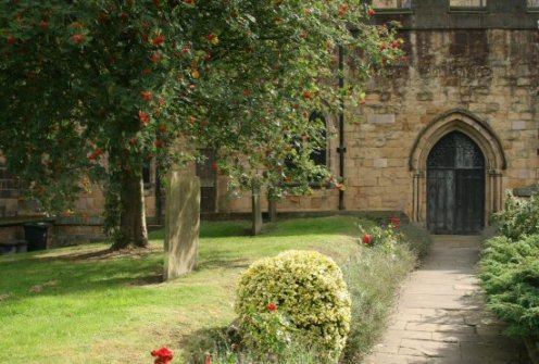 Entrance to All Saints' Church, Bakewell