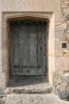 Entrance to Lindisfarne Castle, Holy Island