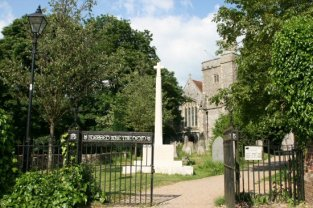 Entrance to St. Peter's Church, Bishop's Waltham