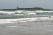 Farne Islands, from Bamburgh Beach, Bamburgh