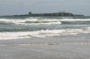 Farne Islands, from Bamburgh Beach, Bamburgh