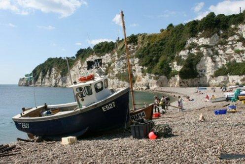 Fishing boats, Beer