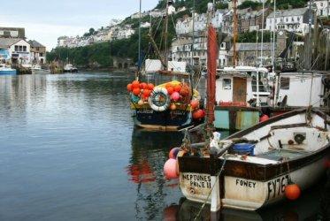 Fishing boats, Looe Harbour, Looe